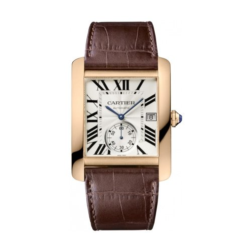 Cartier Tank Mc Men'S Automatic 18K Rose Gold - W5330001