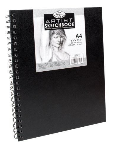 royal-langnickel-a4-83-x-117-inch-sketchbook-with-spiral-side-80-sheets