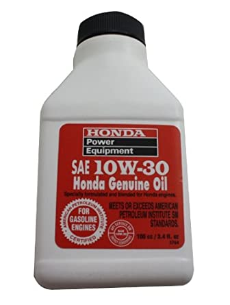 Amazon.com: Honda 08209-10W30 SAE Honda Oil 100cc/3.4 fl oz