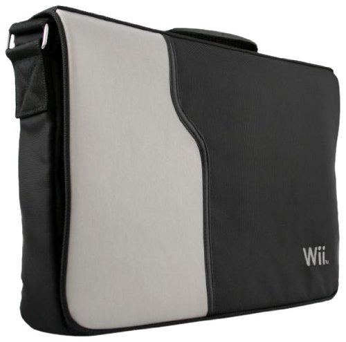 Wii Messenger Bag - Grey
