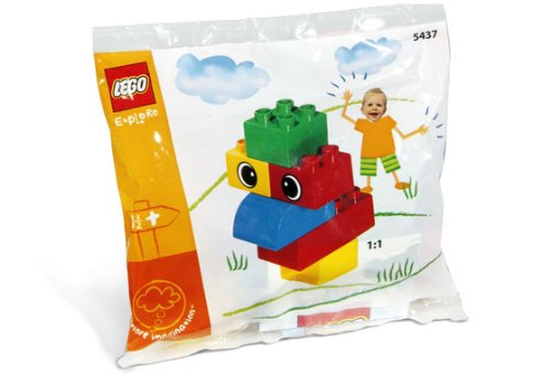 LEGO Chicken 5437 Poly Bag - 1