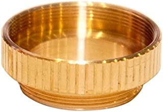 M30x075 to M24x075 microscope objective adapter bronze