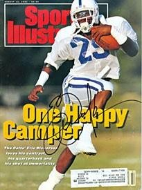 Signed Dickerson Photo - Indianapolis Colts Sports Illustrated August 12 1991 -... by Sports Memorabilia