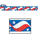 Ddi Fr Patriotic Crepe Streamer (Pack Of 132)