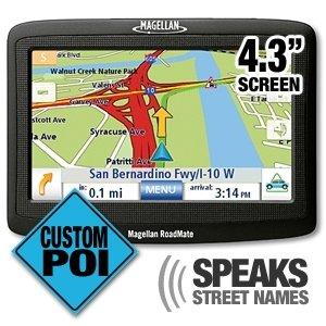Magellan RoadMate 1430 4.3-Inch Portable GPS Navigator