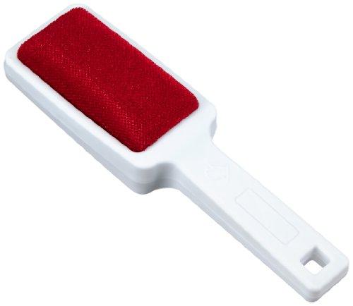 Wenko 4823150100 Brosse à Habits Junior Double Face Blanc/Rouge