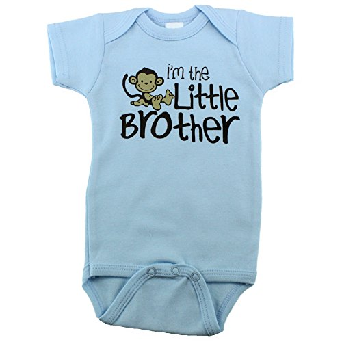 Baby Boys Onesies for Little Brothers, 3-6 Month, I'm the Little Brother (Im The Little Brother Shirt compare prices)