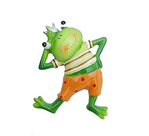 Japanese Fashionable Frog Boy Mascot Refrigerator Magnet Casual Shirts Ver. Handmade Ceramics Decorative Figure (Amber Mosaic Gems compare prices)