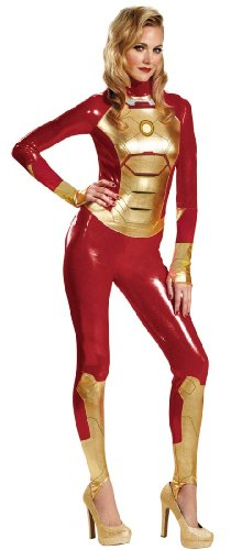 Pepper Potts Iron Man Mark 42 Adult Costume Size:Small