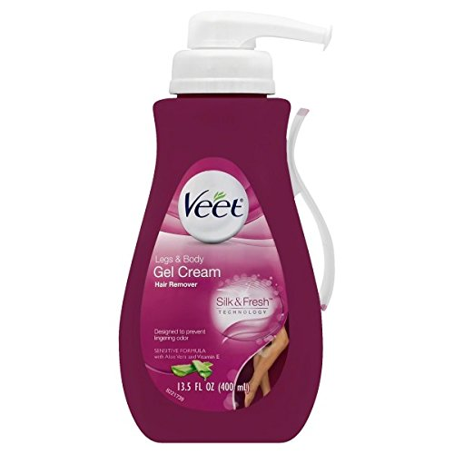Veet Gel Hair Remover Cream, Sensitive Formula, 13.50 Ounce (Hair Removal Legs compare prices)