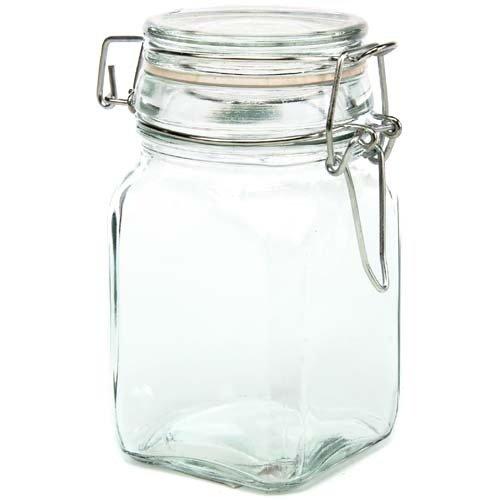 Creative Hobbies Glass Jars w/ Locking Lid -4.75