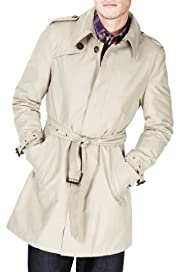 Autograph Cotton Rich Trench Coat with Stormwear [T16-9164A-S]