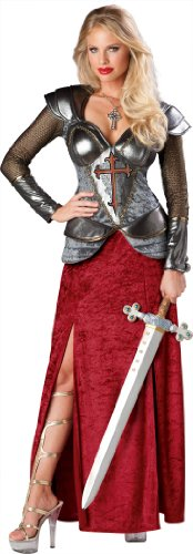 In Character Costumes - Joan Of Arc Premier Adult Costume - Medium