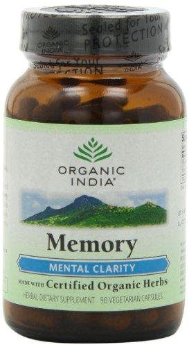 Organic India Memory, 90-Count