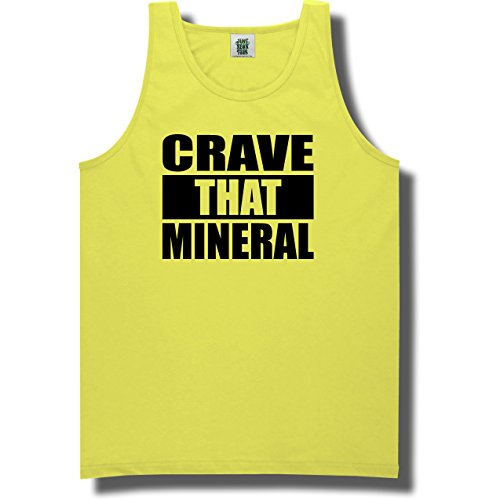 Crave That Mineral Neon Green Tank Top - Large