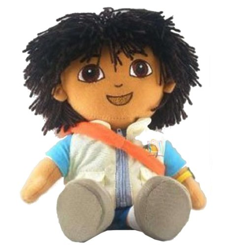"Go Diego Doll Rescue Backpack 14"" Plush Doll [Toy]"
