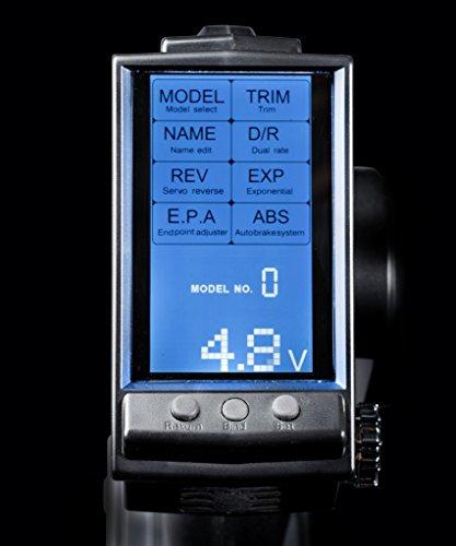 Absima-2000002-RC-Car-3-Kanal-Display-Fernsteuerung-CR3P-24-GHz-inklusive-waterproof-Empfnger