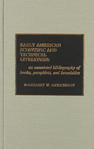Early American Scientific and Technical Literature