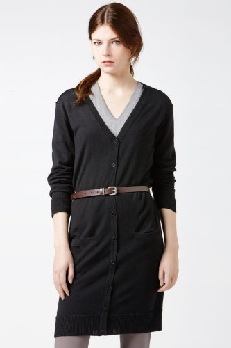 Long Sleeve Merino Wool Cardigan Dress