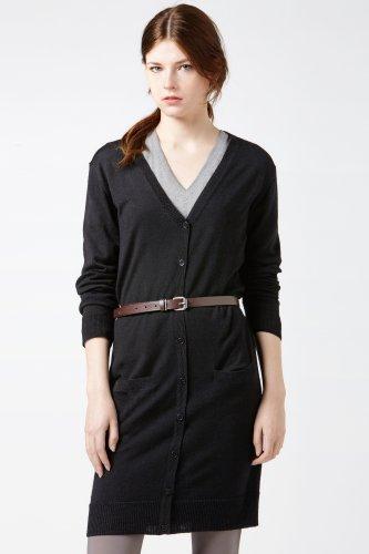 Long Sleeve Merino Wool Cardigan Dress