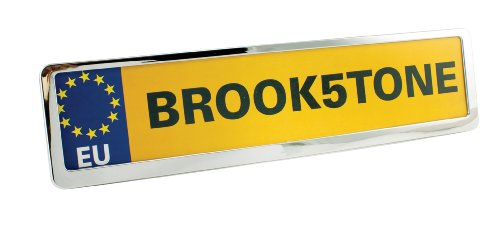 Brookstone Number Plate Holder