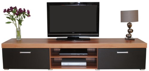 Cheap  2 Metre  & Walnut Sydney 2 Door TV Cabinet Extra Large Unit