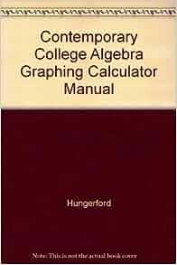 Algebra Texts - Hungerford vs. Lang   Physics Forums