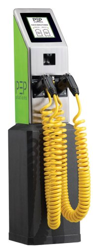 Pep Station Ps2000 Pedestal Mount- Commercial Level 2 Electric Car Charging Stations