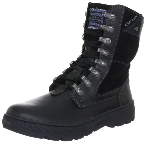 Geox Jr Young Ummer Boy Boots Boys Black Schwarz (black C9999) Size: 2.5 (35 EU)