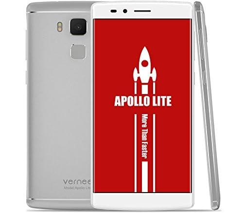 Vernee Apollo Liteスマートフォン MTK6797 Helio X20 64-bit 10コア 5.5インチ 2.5D FHD 1920 * 1080 Android 6.0 4GB RAM+32GB ROM 5MP+16MP カメラ 4K ビデオ 360° 0.1S 指紋認識 ID ロック解除 急速充電など機能