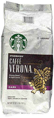 Starbucks Caffe Verona Ground Coffee, 2-Pound (Starbucks Ground Coffee Roast compare prices)