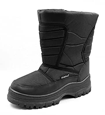 Mobesano Mens Snow Winter Cold Weather Boots | Amazon.com