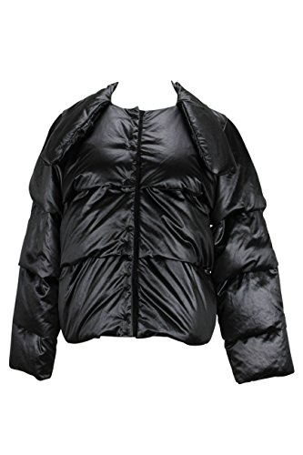 paule-ka-womens-puffer-jacket-size-6-us-42-it-regular-black-polyester