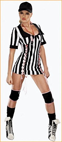 Hot Lady Referee Halloween Costume