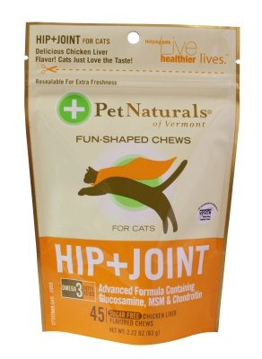 """Brand New Pet Naturals Of Vermont - Hip & Joint Cat (45Ct) """"Cat Products - Cat Health - Vitamins & Supp"""""""