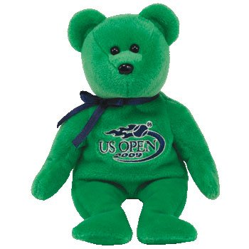 TY Beanie Baby - VOLLEY the the US OPEN Bear (US Open Exclusive) 2009