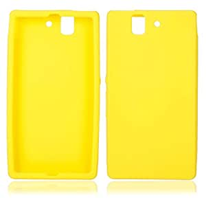 Silicone Case for Sony LT36H Yellow
