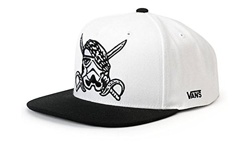 Vans Shoes Off The Wall Men's Star Wars Darth Storm Snapack Hat Cap - White