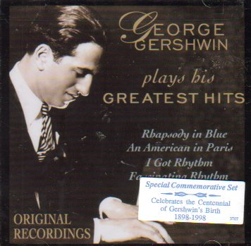 Plays His Greatest Hits by George Gershwin