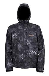 Grundens Gage Water Resistant Midway Softshell Jacket, Kryptek Typhon Camo, 5XL
