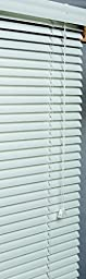 Lotus & Windoware AM3560WH 1-Inch Wide Aluminum Blind, 35 by 60-Inch