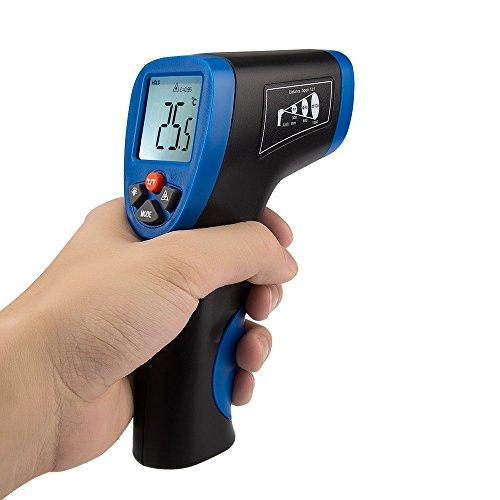 AVANTEK 非接触温度計 赤外線放射 デジタル測定器 レーザーポイント機能付き 多用途 調理用 自動車の検査など 広い測量範囲 -50~+550℃ 日英取説 電池付き TG-3B