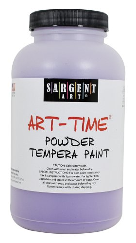 Sargent Art 22-7142 1-Pound Art Time Powder Tempera, Violet - 1