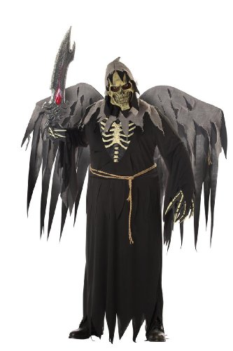 Angel of Death with Wings Adult Plus Size Costume