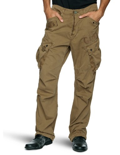 G Star Co Rovic Loose Men's Cargo Trousers Fox W32INxL34IN