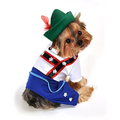 Size XS Christmas Workshop Elf Dog Costume by Anit Accessories