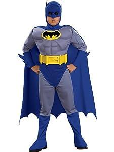 Batman Deluxe Muscle Chest Batman Child's Costume-Blue from Amazon.com, LLC *** KEEP PORules ACTIVE ***