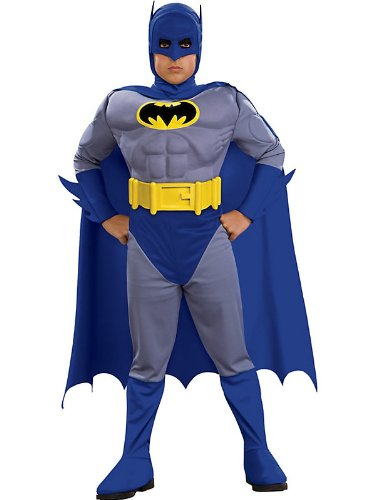 Batman Brave & Bold Deluxe M/C Batman Toddler / Child Costume - Medium (8/10)