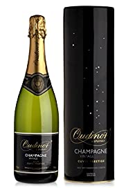 Oudinot 2004 Vintage Champagne Swarovski Tin - Single Bottle