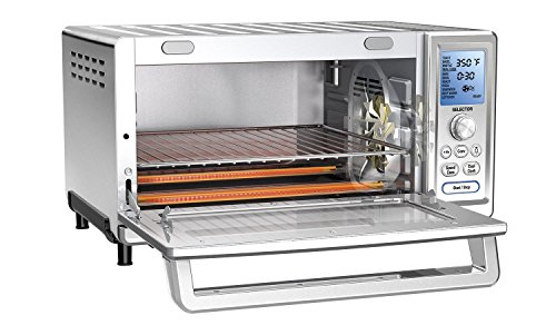 Cuisinart TOB-260N1 Chef's Convection Toaster Oven,  Stainless Steel (Toaster Oven Broiler Cuisinart compare prices)